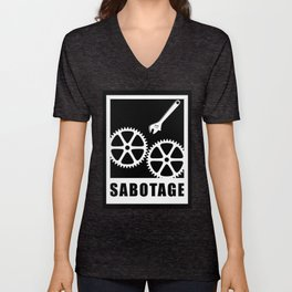 Sabotage Unisex V-Neck
