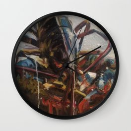 Lobster Primary Wall Clock