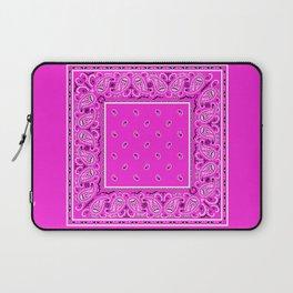 Abruptly Pink Bandana Laptop Sleeve