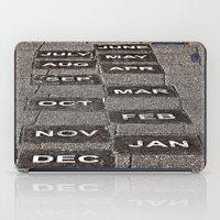 calendar iPad Cases featuring Calendar Walk by Ethna Gillespie