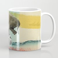 balance Mugs featuring Balance by Vin Zzep