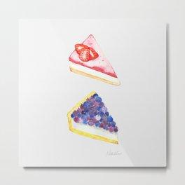 Fruit Tarts  Metal Print
