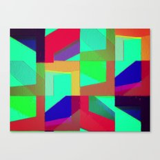 Colorful Truth. Green. Canvas Print