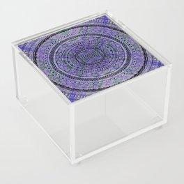 Zentangle Mandala Acrylic Box