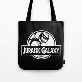 Jurassic Galaxy - White Tote Bag
