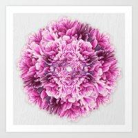 the pinkest  Art Print