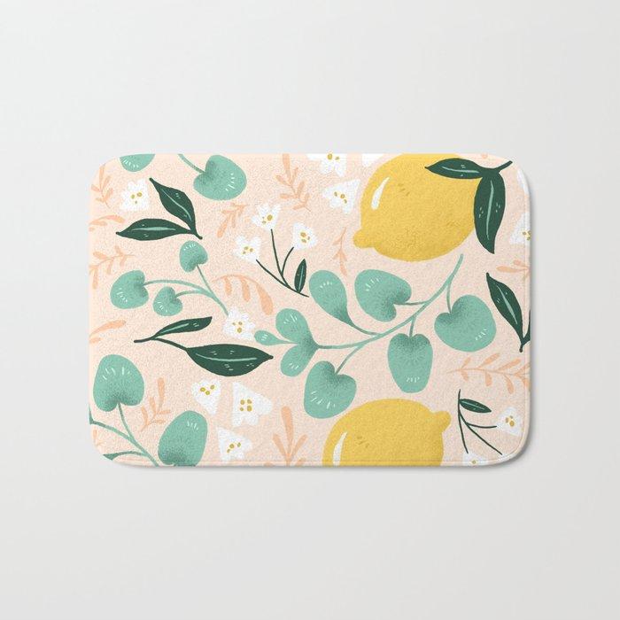 Lemon Party Bath Mat