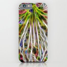 abstract glowing amaryllis hippeastrum iPhone Case
