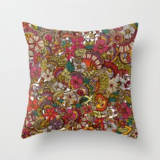 I spy... in colors Throw Pillow