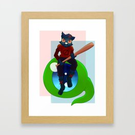 Septic Mae Framed Art Print