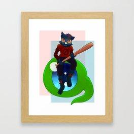Septic Mae Framed Art Print