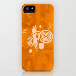 Petroglyphs 2 iPhone Case