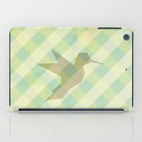 origami iPad Cases featuring Origami by Mr and Mrs Quirynen