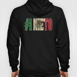 Nieto Gift Mexican Design For Mexican Flag Design for Mexican Pride Vintage Outline Hoody