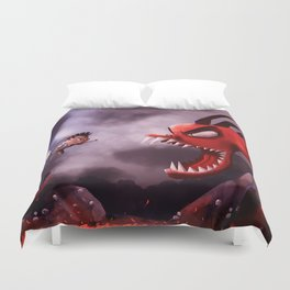 Niko and the Deadly Dragon Duvet Cover