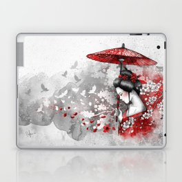 Falling blossoms Laptop & iPad Skin