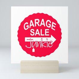 Garage Sale Junkie Mini Art Print