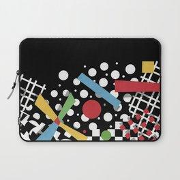 Ticker Tape Geometric Laptop Sleeve