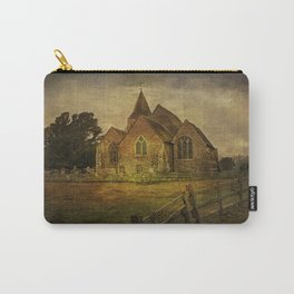 St Clement's Old Romney From The East Carry-All Pouch