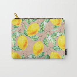 Lemon Fresh #society6 #decor #buyart Carry-All Pouch