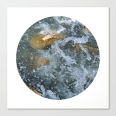Planetary Bodies - Splash Canvas Print