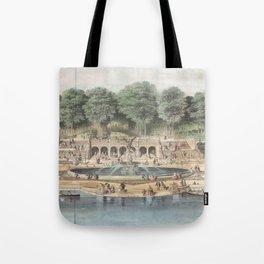 Bethesda Terrace Central Park Vintage Artwork Tote Bag