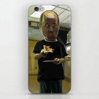 louis ck iPhone & iPod Skins featuring Louis CK Caricature by Richtoon