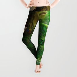 Butterflies are free to fly Leggings