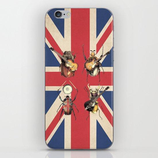 Meet the Beetles (Union Jack Option) iPhone & iPod Skin