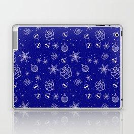 New Year Christmas winter holidays cute pattern Laptop & iPad Skin