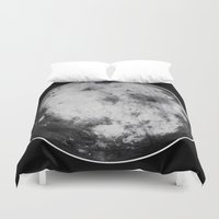 titan Duvet Covers featuring Titan #4 by Tobias Bowman