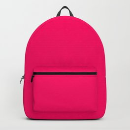 Bright Fluorescent Pink Neon Backpack