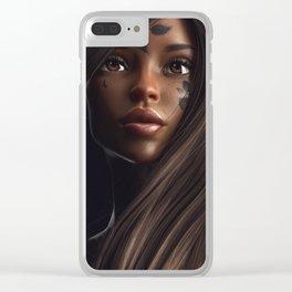 fatalism76 Clear iPhone Case