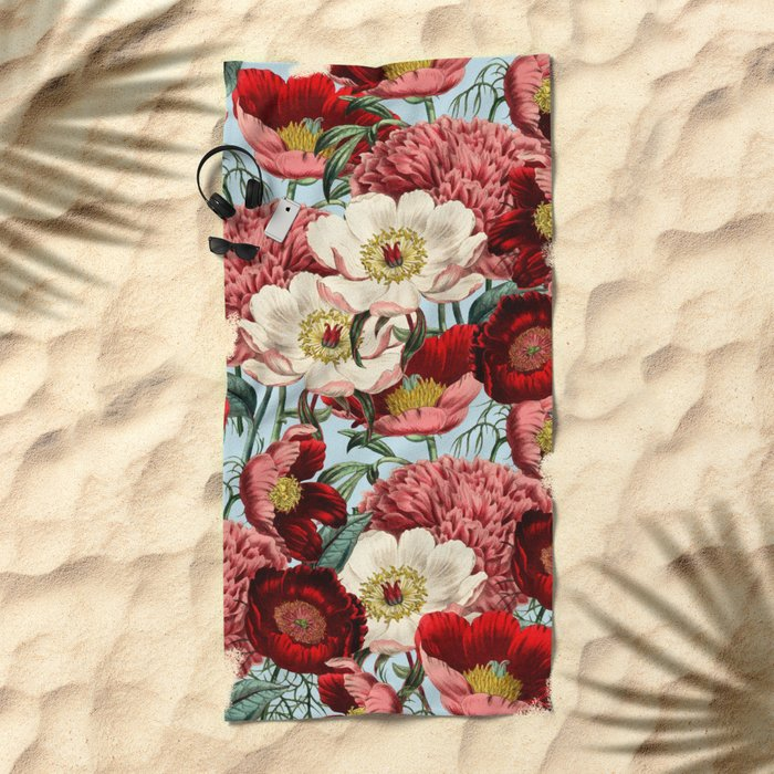 Velvet #society6 #decor #buyart Beach Towel