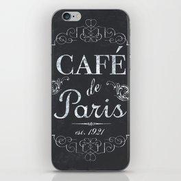 French Bistro 1 iPhone Skin