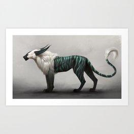 Stiltcat Art Print