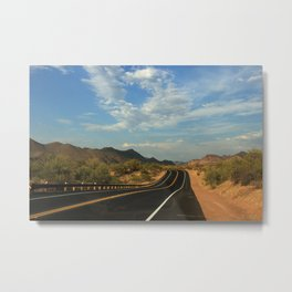 Lonely Highway Metal Print