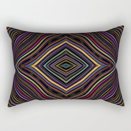 Wild Wavy Diamonds 27 Rectangular Pillow