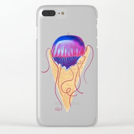Jelly Cone Clear iPhone Case