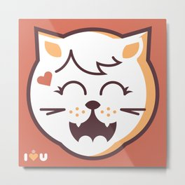 UNDO | ILU Pet Lover series [ dita ] Metal Print