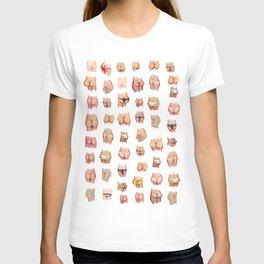 cute butts collab franciscomffonseca T-shirt