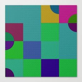 b 1 1 1 - b 2 2 2 Canvas Print