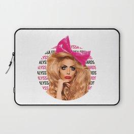 Alyssa Edwards - Circle Laptop Sleeve