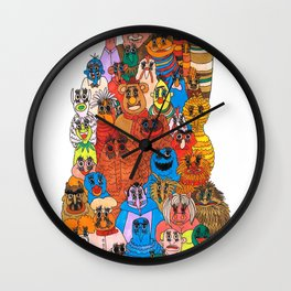 moppets Wall Clock