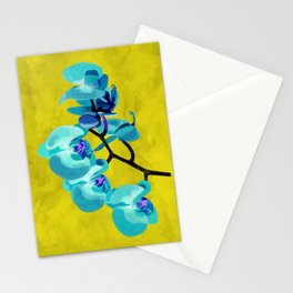 Orchid blue Stationery Cards