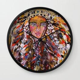Raven Queen Wall Clock