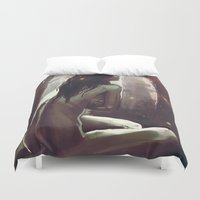 wonderland Duvet Covers featuring Wonderland by NArtist_P3rhaps