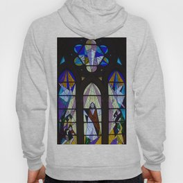 Stained Glass of the Cathedral Almudena, Madrid Hoody