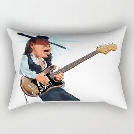 Stevie Ray Vaughan Rectangular Pillow