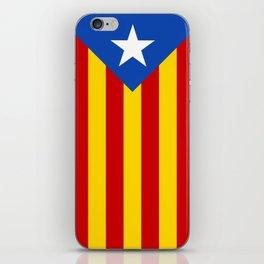Estelada Blava - Senyeraestelada, HQ Banner version iPhone Skin
